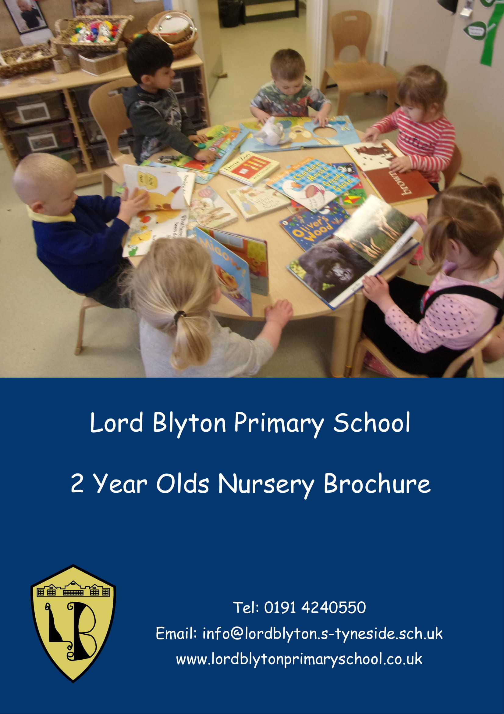 2 Year Old's Nursery Brochure